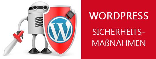 Wordpress Sicherheitsmaßnahmen