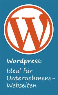 Wordpress für Unternehmenswebseiten
