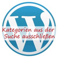 Wordpress: Kategorien aus der Suche ausschließen