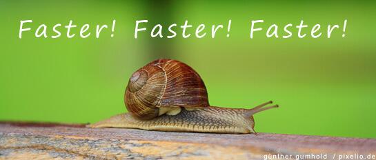 Webseiten schneller machen