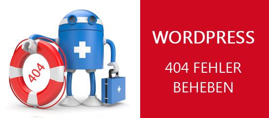 Wordpress 404 Fehler der Permalinks beheben