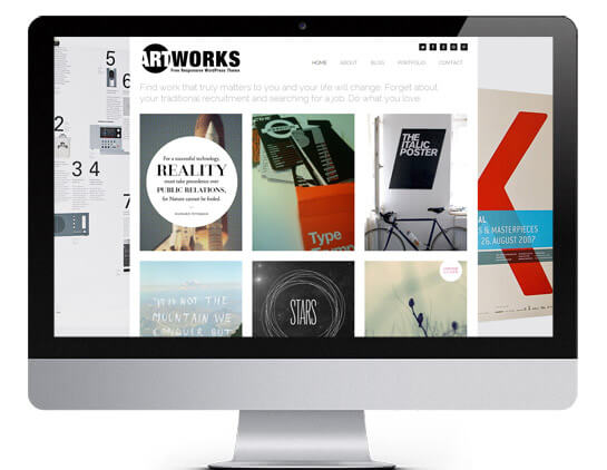 WordPress Theme Artworks