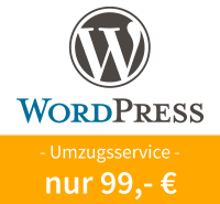 WordPress Umzugsservice