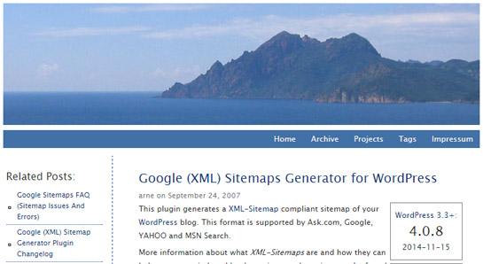 XMLSitemap