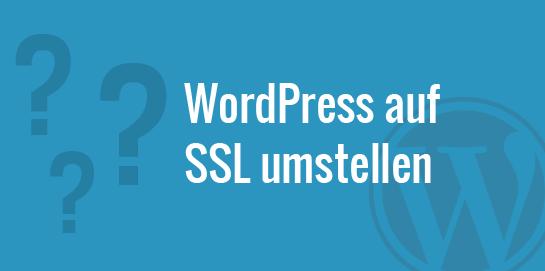 WordPress auf SSL umstellen - Anleitung, Vorteile und Risiken...
