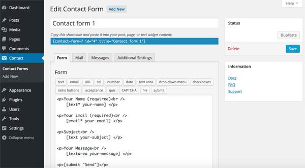 Die Besten Wordpress Plugins Für Formulare Netzgänger