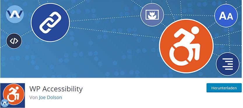 WP-Accessibility - Plugin für Barrierefreiheit